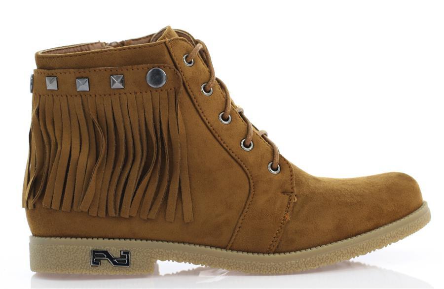 Женские ботинки COLEMAN camel