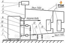Твердотопливный котел данко  16 ТН, фото 2