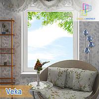 Пластиковое одностворчатое глухое окно Veka