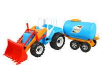 Детский трактор скрепер-молоковоз тигр орион (051)