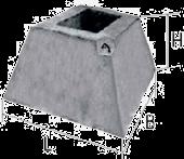 Стакан ФЗП 1-1 (фундамент ограждения)