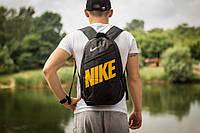 Рюкзак Nike Classic Line, Найк черный с желтым