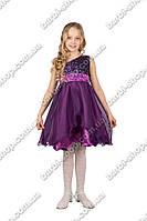 Красивое детское платье с вышивкой