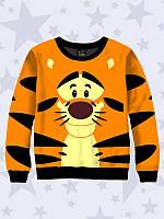Свитшот  3Д  для детей , Тигра
