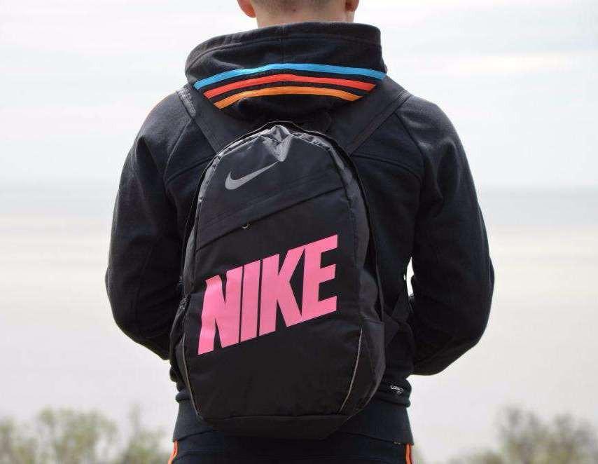 62e37193 Рюкзак Nike Classic Line, Найк черный с розовым: продажа, цена в ...