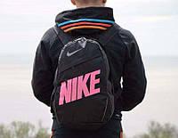 Рюкзак Nike Classic Line, Найк черный с розовым, фото 1