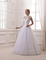 Свадебное платье без рукава