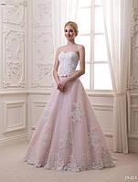 Свадебное платье с кружевным корсетом, фото 1