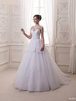 Свадебное платье с баской, фото 1