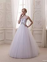 Красивое и пышное свадебное платье