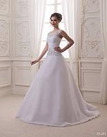 Утончённое свадебное платье, фото 1