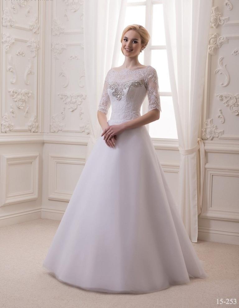 43a17b205a9 Свадебное платье с кружевными рукавами - Интернет-магазин ОДЁЖКА прямой  поставщик в Одессе