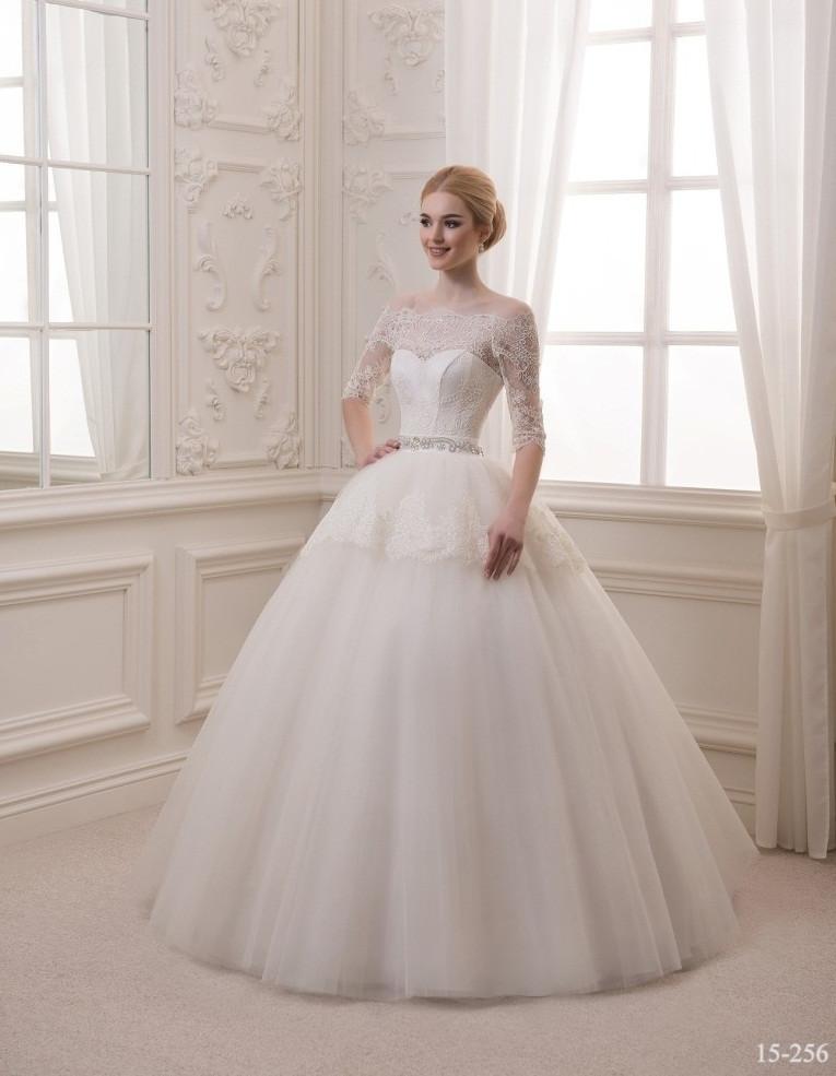 b262377d5a9 Пышное свадебное платье с кружевными рукавами - Интернет-магазин ОДЁЖКА  прямой поставщик в Одессе