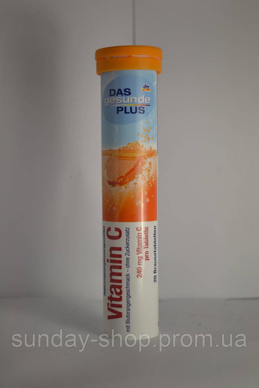 Шипучие таблетки-витамины Das Gesunde Vitamin C - Интернет-магазин товаров из Європы  в Закарпатской области