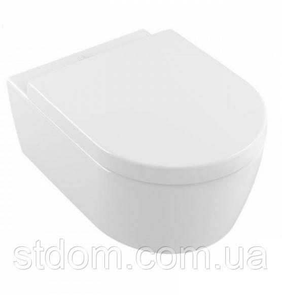 Унитаз подвесной Villeroy&Boch Avento 5656RS01 Alpin White с сидением SlimSeat