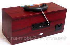 Акустическая колонка  Atlanfa AT-8805, MP3 SD USB FM , red, фото 3