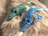 Брелки, брелок из бисера Крокодльчик, фото 1