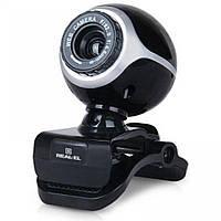 Веб-камера REAL-EL FC-100 с микрофоном (1.3 MPx)