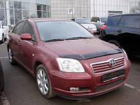 Дефлектор капота ( мухобойка ) Toyota Avensis 2003-2008