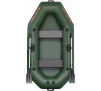 Надувная лодка гребная двухместная Kolibri К-240 серия Standart (слань-коврик)