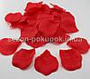 Лепестки роз искусственные (упаковка 100 шт) Красный цвет