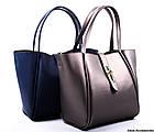 Женская сумка кожаная Basconi, фото 4