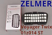 Оригинал Zelmer Voyager Twix 01z014 st Hepa фильтр ZVCA335S внутренний на пылесос с колбой мешковой циклонный