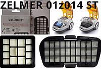 Оригинал набор 01Z014 ST Zelmer Voyager Twix ZVC332 и ZVC335 хепа фильтры для пылесоса (комплект ZVCA335SX)
