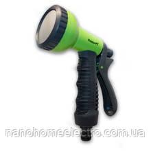 Пист. полив. пласт. shower № 7210  green