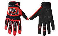 Мотоперчатки текстильные FOX M-365-BKR