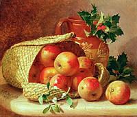 """Набор алмазной вышивки (для рисования камнями) """"Корзина с яблоками"""". Художник Eloise Harriet Stannard"""