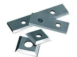 Ножи сменные твердосплавные, 50х12х1,5 мм для обработки древесных материалов