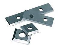 Ножи сменные  твердосплавные, 12х12х1,5 мм для обработки древесины