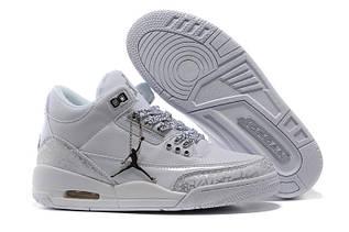 Кроссовки женские Nike Air Jordan 3 / AJW-015 (Реплика)