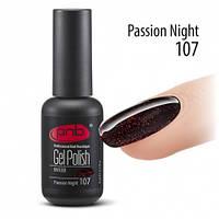 Гель-лак PNB №107 Passion Night 8 мл.