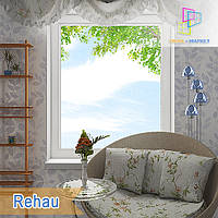 Одностворчатое глухое окно Rehau 60/Rehau 70