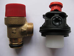 Клапаны предохранительные. Воздухоотводчики