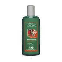 LOGONA БИО-Шампунь для слабых волос энергезирующий Кофеин и Годжи, 250мл