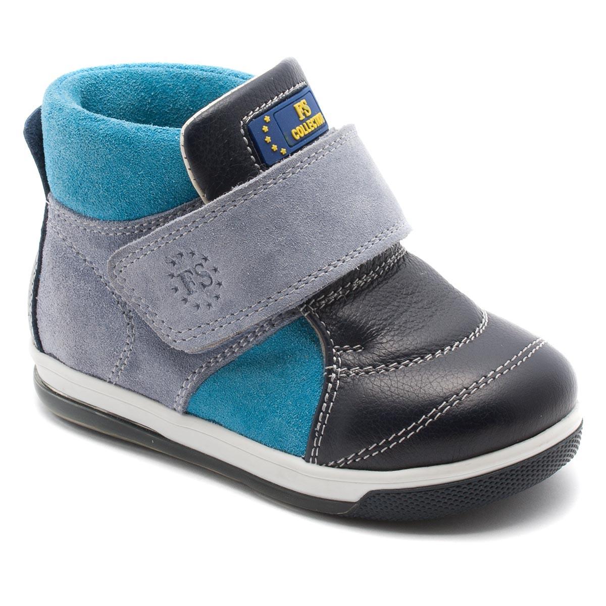 6ffdb9729a8b Кожаные ботинки FS Сollection для мальчика, демисезонные, размер 20-30 -  Детская обувь