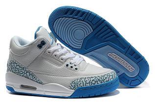 Кроссовки женские Nike Air Jordan 3 / AJW-017 (Реплика)
