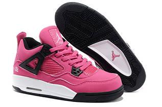 Кроссовки женские Nike Air Jordan 4 / AJW-026 (Реплика)