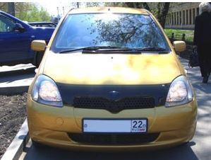Дефлектор капота ( мухобойка ) Toyota Yaris 2003-2005 - AEROKLAS Ukraine в Киеве