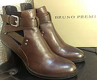 Ботильоны  коричневые Bruno Premi