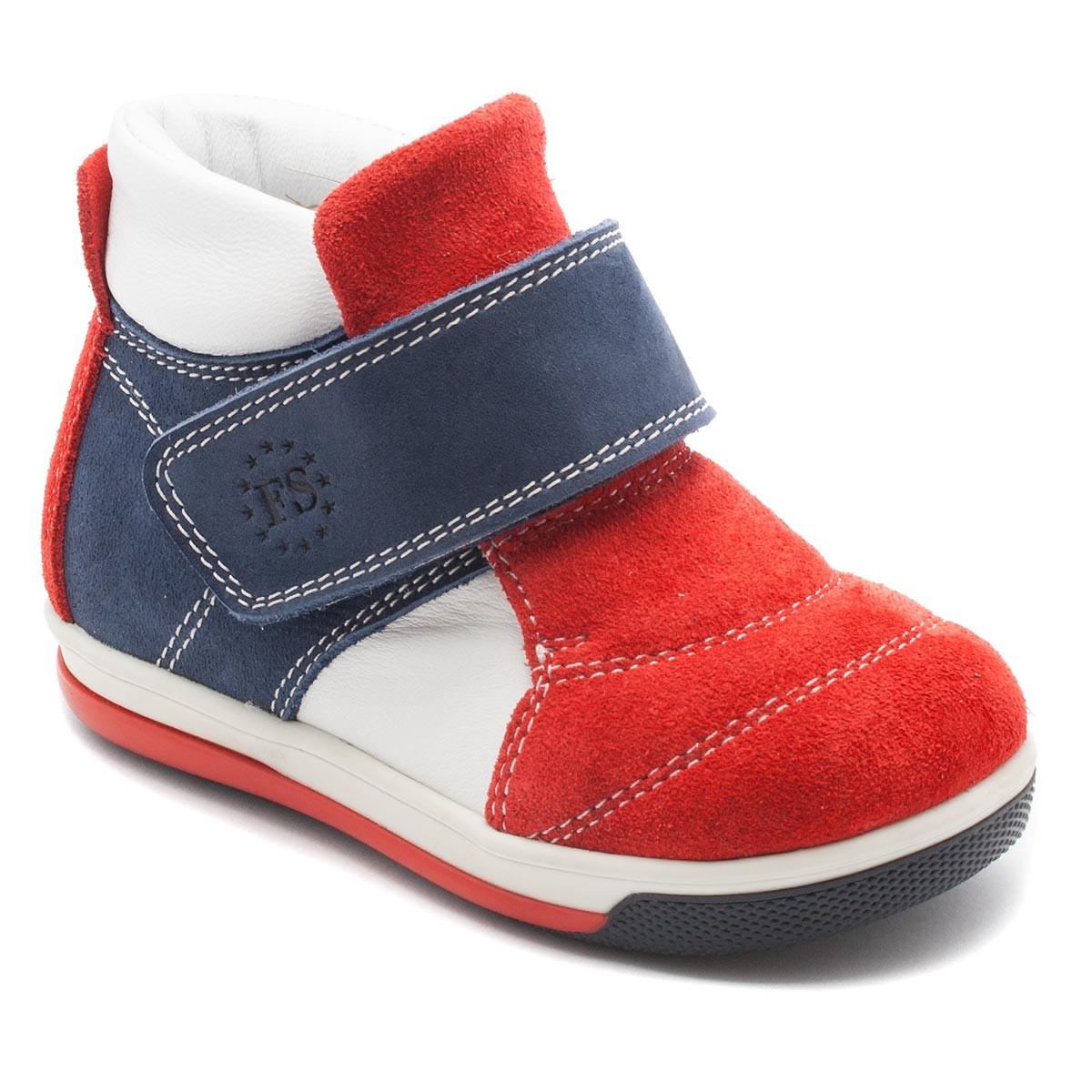 Кожаные, демисезонные  ботинки FS Сollection для мальчика, размер 21-30