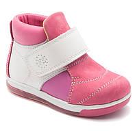 Демисезонные ботинки FS Collection для девочки, кожаные, размер 21-30