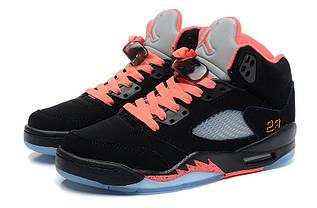 Кроссовки женские Nike Air Jordan 5 / AJW-049 (Реплика)