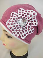Красивые шапочки для девочек.