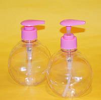 Бутылочка с розовым дозатором 300 мл