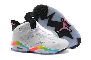 Кроссовки женские Nike Air Jordan 6 / AJW-060 (Реплика)