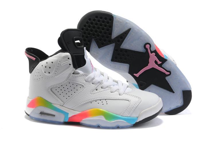 Кроссовки женские Nike Air Jordan 6 / AJW-060